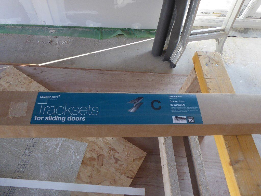 Space Pro Trackset For Sliding Wardrobe Doors In Falkirk Gumtree