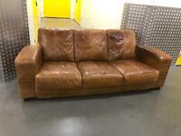 Genuine leather sofa, Free delivery