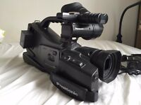 PANASONIC PROLINE AG DVC60 SHOULDER MOUNT CAMCORDER CAMERA