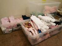 Baby clothes newborn, 0-3 & 3-6 month. Majority £1 a piece