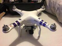 DJI Phantom 3 Advanced Drone + Accesories