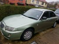 05 ROVER 75 CLASSIC LOW MILAGE