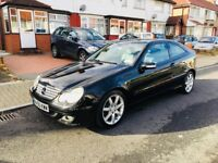 Mercedes-Benz,AUTOMATIC, C Class 2.1 C200 CDI SE 2dr, HPI CLEAR, LOW MILE 76000,