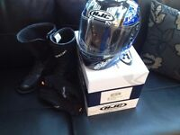 Motorcycle Gear for sale (Helmet, boots and gloves)