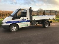 Ford transit tipper high sides removable