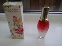 ladies escarda cherry in the air 30ml (boxed not wrapped)