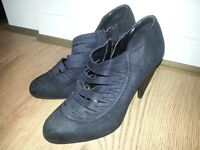 Black ankle boots size 5.5 UK