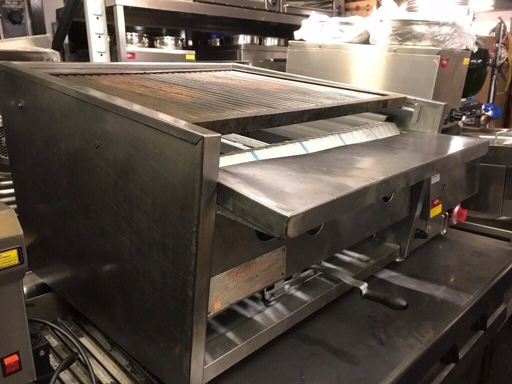 CATERING COMMERCIAL STILL CHARCOAL BBQ KEBAB MACHINE FAST FOOD RESTAURANT KITCHEN SHOP TAKE AWAY