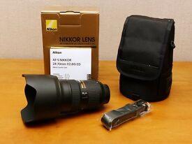 Nikon Nikkor 24-70mm AF-S f2.8G ED Pro Lens