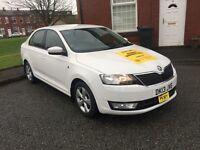L@@k Skoda Rapid 2013, 12 months Manchester taxi plate for sale or track L@@K