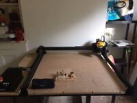 1m x 1m CNC Router , X-Carve v3 with X-controller, full clamp set, bit selection included.