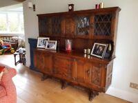 Solid Oak Dresser made by Webber Furniture