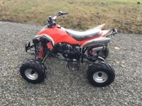 125 kids quad bike electric start forward and reverse with foot pedal