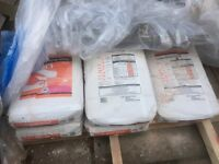 5 bags of multi finish plaster