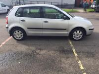 05 VW POLO WITH FSH MOT MAY 18 £1290