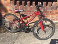 """Apollo XC24 Boys bike MTB Cycle -Excellent Condition 24""""; Wheel - Can Deliver Local York FREE"""