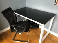 Modern office or home desk & chair