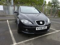 2008 SEAT ALTEA DIESEL,FULL YEAR MOT.2 KEYS GREAT FAMILY CAR