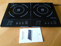 Double Induction Hob 2800 Watts - great condition