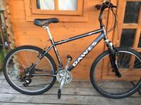 """Adults Dawes Saratoga Hybrid bike 18"""" frame. Fully working"""