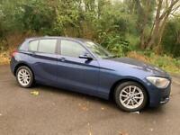 BMW 116D MANUAL DIESEL BLUE 2012