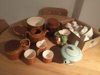 Vintage pottery/crockery/tea set collection
