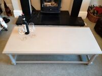 PAINTED COFFEE TABLE (£25)