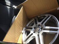 """18"""" 6 spoke Mercedes AMG alloys"""