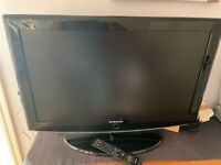 Samsung 32 HD Ready TV with freeview