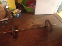48kg bar bell