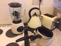 Cream - set of 3 pots
