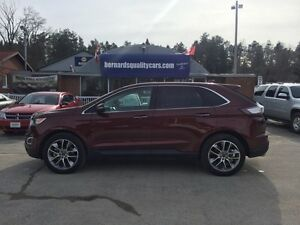 2016 Ford Edge Titanium | AWD | PANORAMIC ROOF | NAV | LEATHER