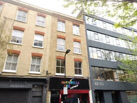 SHOREDITCH, BRICK LANE, FURNISHED 1 BED, SELF CONTAINED, LIVERPOOL STREET, LONDON EC2, £275PW