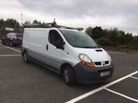 2006 Renault trafic 1.9 dci 6 speed long wheel base long mot ready to go same vivaro