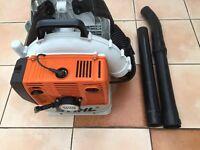 Stihl DR380 backpack leaf blower.