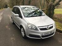 ***VAUXHALL ZAFIRA 2005/55 ONLY 60,000 MILES*** 7 SEATER***