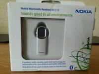 Brand new Nokia bluetooth headset BH-216