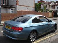 /// BMW 320I SE COUPE 2007 PLATE NEWER SHAPE /// 3 SERIES