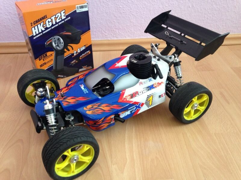 neu reely air attack rex x 2wd verbrenner 1 8 rc buggy. Black Bedroom Furniture Sets. Home Design Ideas