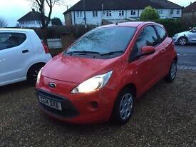 2014 FORD KA EDGE CAT D REPAIRED 26,000 MILES F/S/H GREAT MPG £30 ROAD TAX fab condition in/out