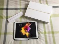 iPad Pro 12.9 Gold 128GB Wifi & 4G EE withApple Pencil, Case & Warranty