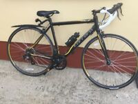 CARRERA new road racing bike. WITH NEW TRAINER.