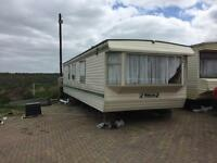 Static caravan mobile home to rent
