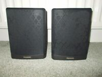PANASONIC REAR SURROUND SOUND SPEAKERS.