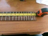 Fretboard and nut for Bass