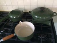 Genuine Le Creuset Cookware