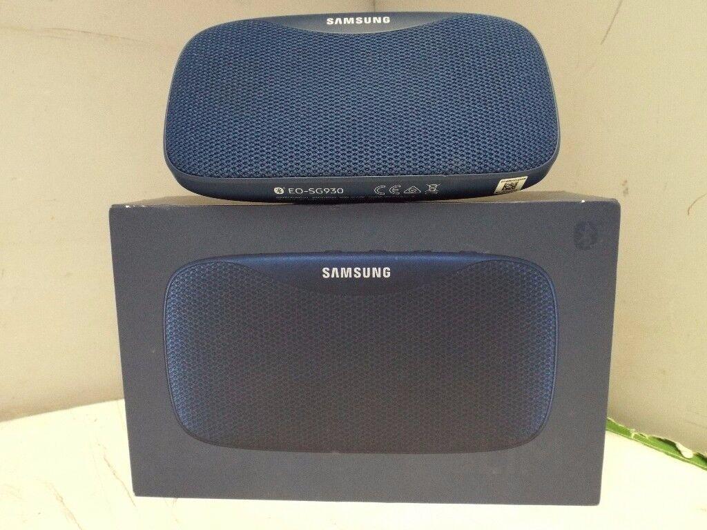 Samsung bluetooth speaker (blue)