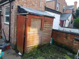 garden shed / BIKE SHED wooden