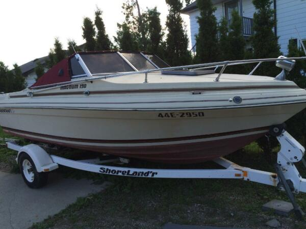 1985 Thunder Craft Boats Magnum 190