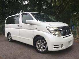 NISSAN ELGRAND RIDER NISSAN ELGRAND 3.5 V6 AUTO 8 SEATER FULL LEATHER RIDER +JAPAN FRESH IMPORT 2004